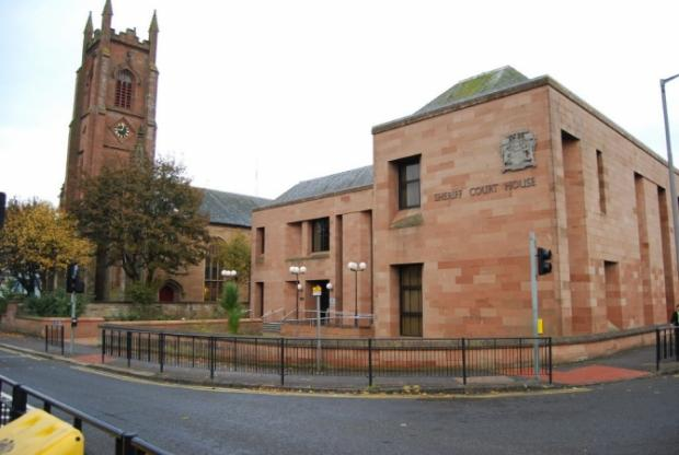 Man fined for assault at a Kilwinning caravan park