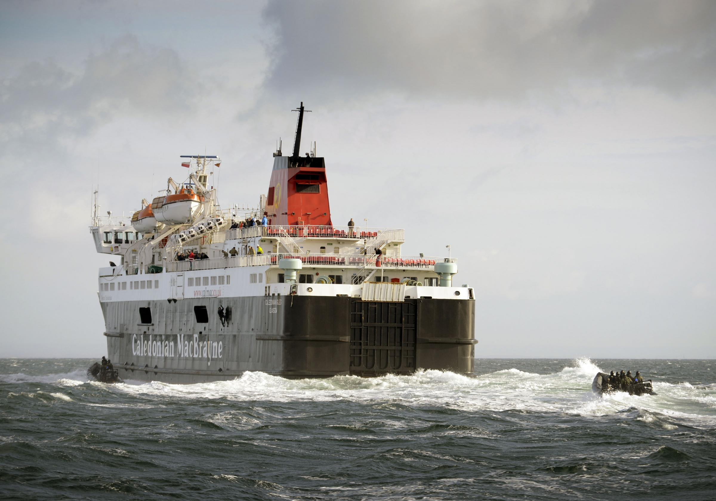 CalMac offer free wifi on ports and ferries in Ardrossan and Arran