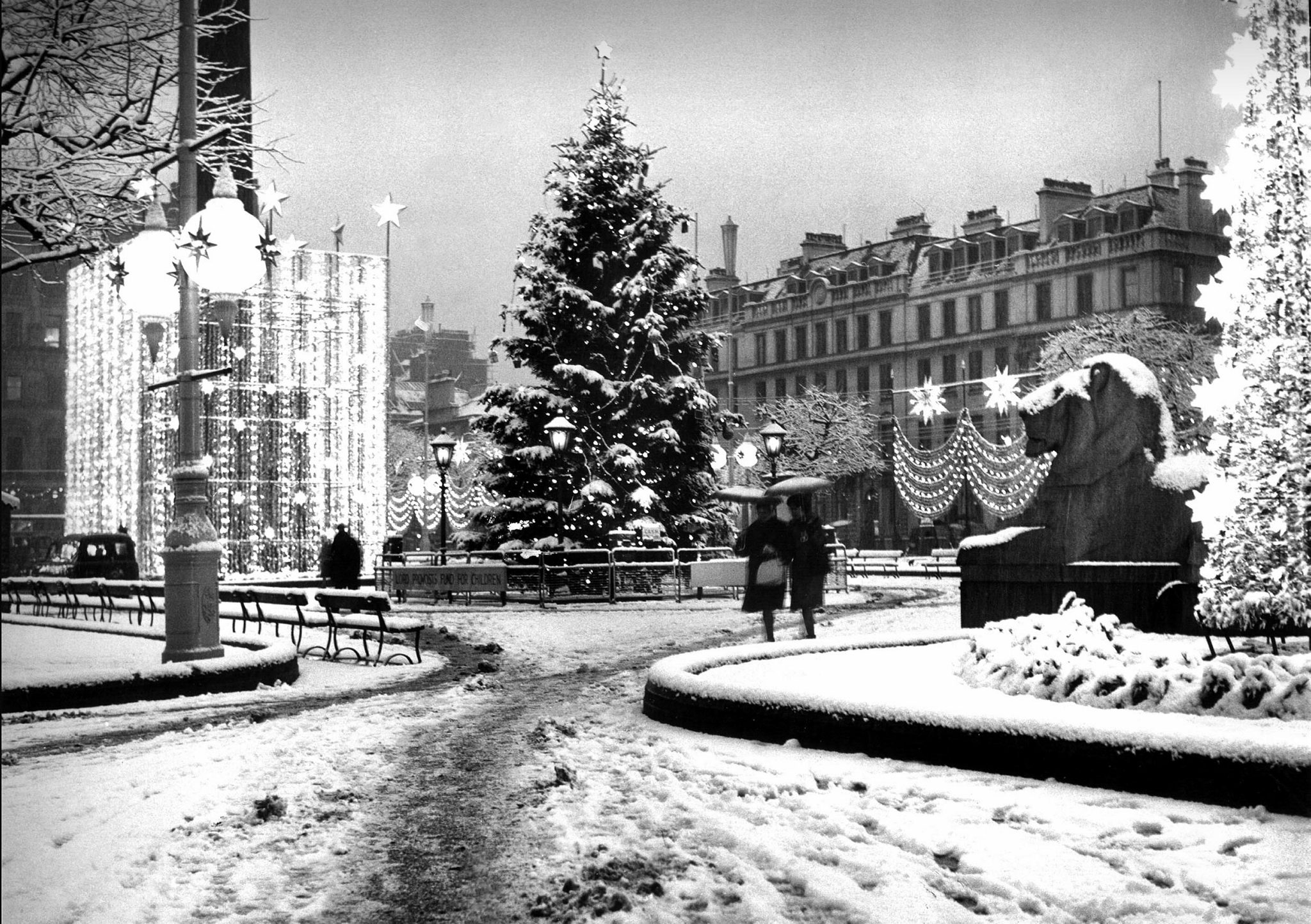 Stunning old photographs of Glasgow at Christmas to get you in the festive spirit