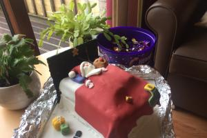Beith care home win festive cake decoration competition