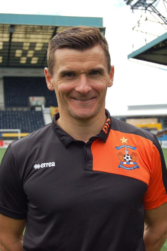 POINT TAKEN: Killie interim boss Lee McCulloch was encouraged with his team's second half display.