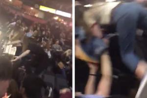 Manchester Arena terror attack: Video shows music fans clambering over seats trying to escape horror gig
