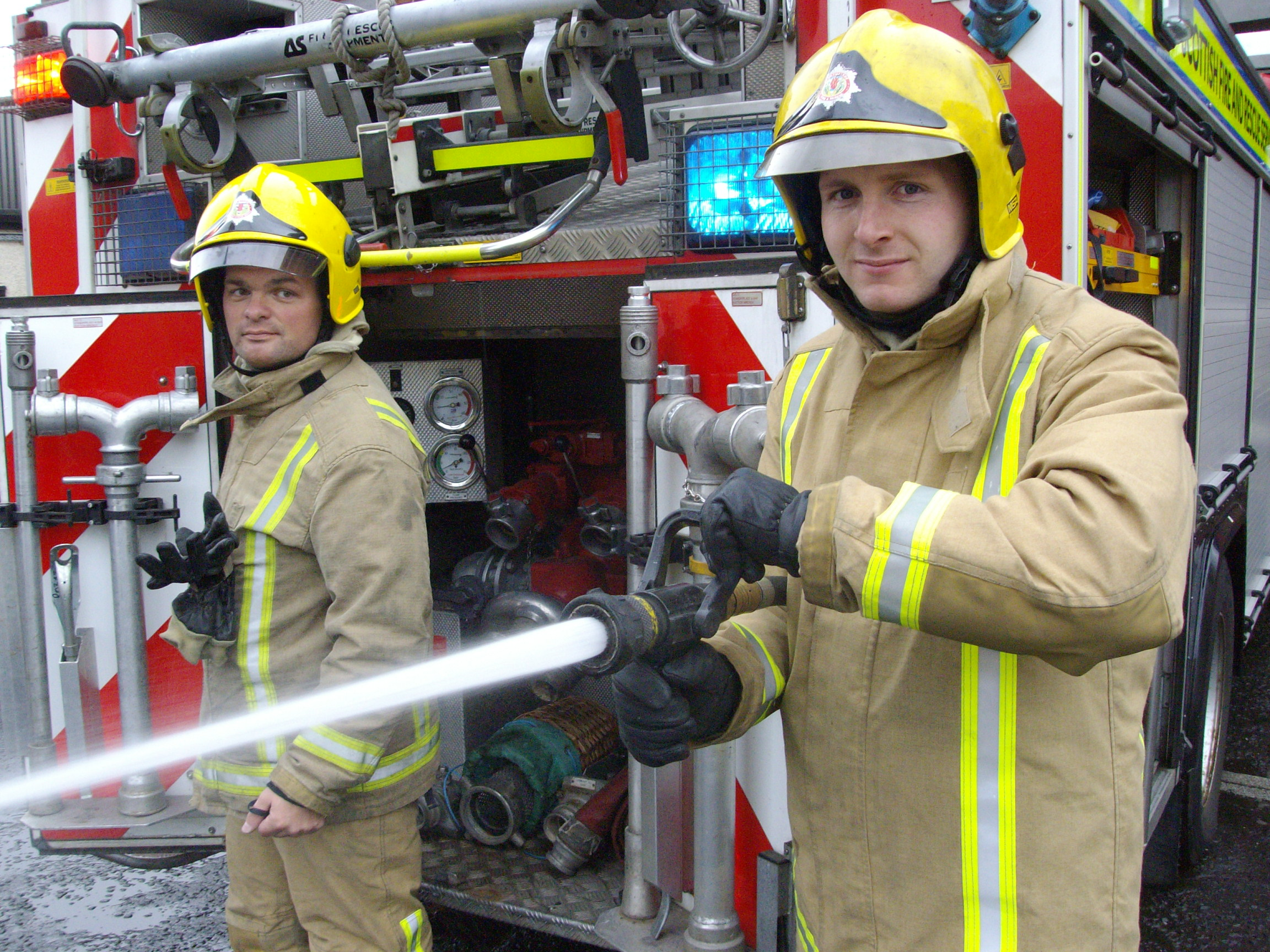 Additional retained firefighters