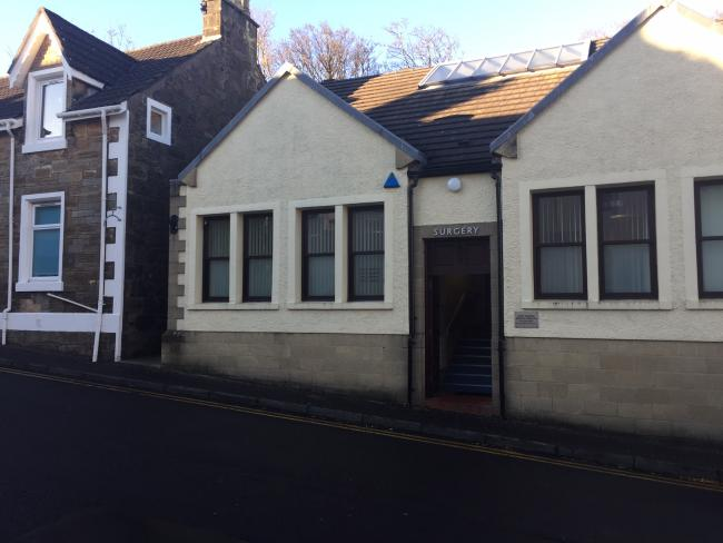 West Kilbride doctors was shut due to staff shortage