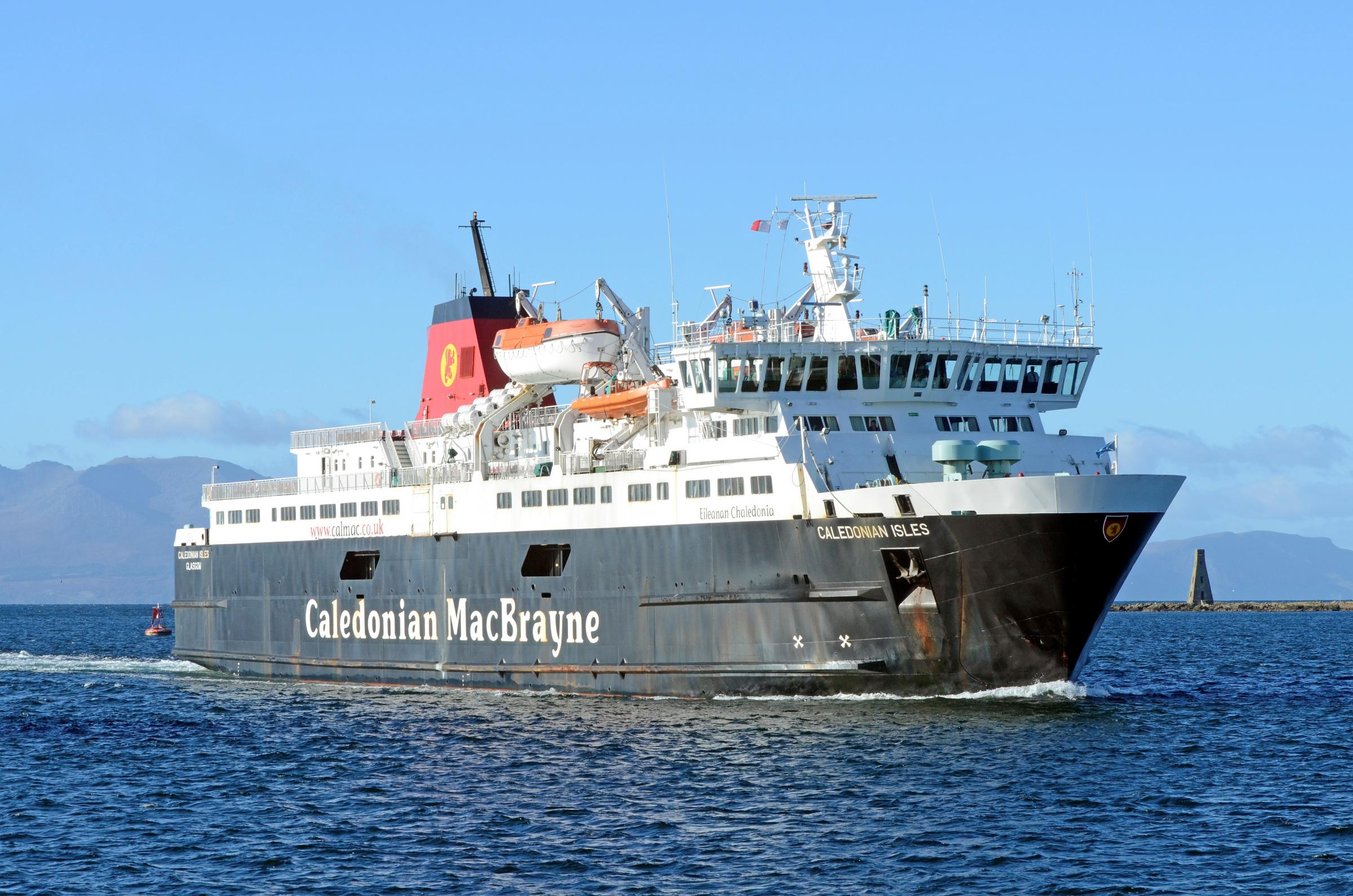 Ministers confirm the new Arran ferry to be delayed beyond June