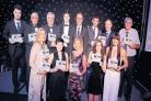 The category winners at last year's North Ayrshire Sports Awards.