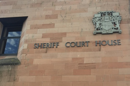 Dalry man is remanded for abuse