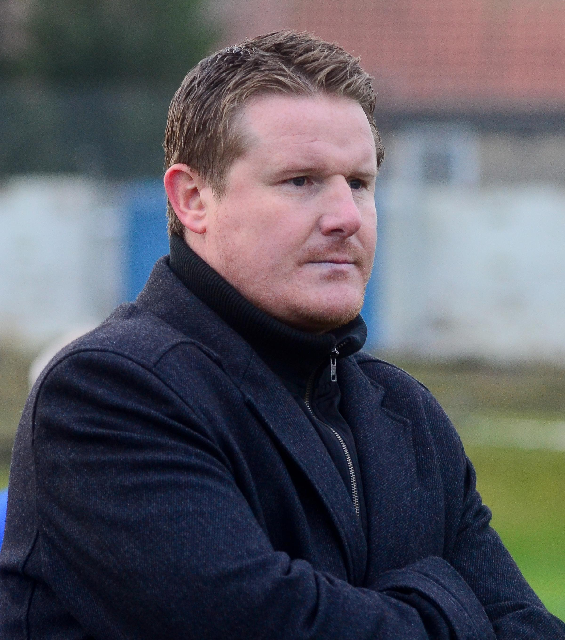 NEW BOSS: George Grierson has taken the reins at Saltcoats Victoria.