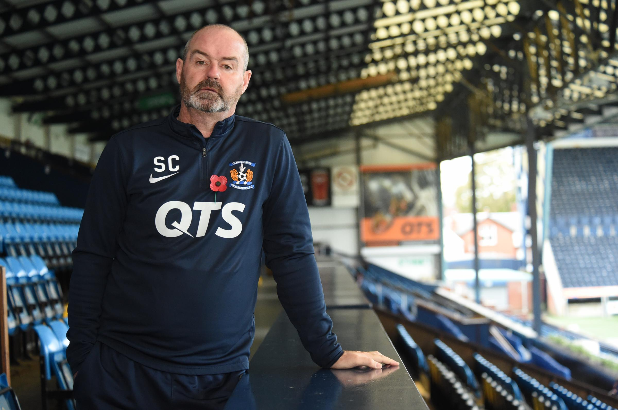GREAT WIN: Killie boss Steve Clarke was pleased to chalk up victory in Perth