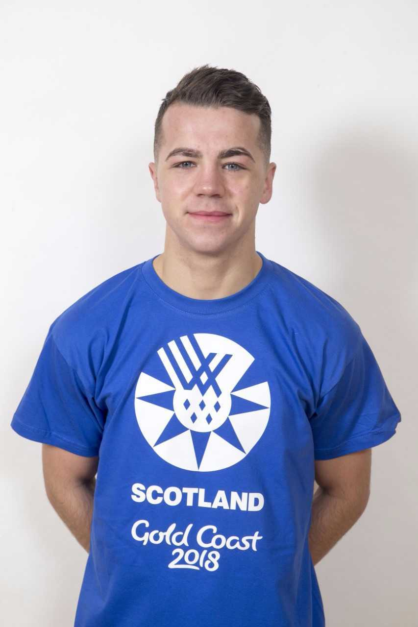 TOP BOXER: Robbie McKechnie is in Team Scotland for the Commonwealth Games.