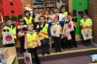 Library visit for Blacklands P1s
