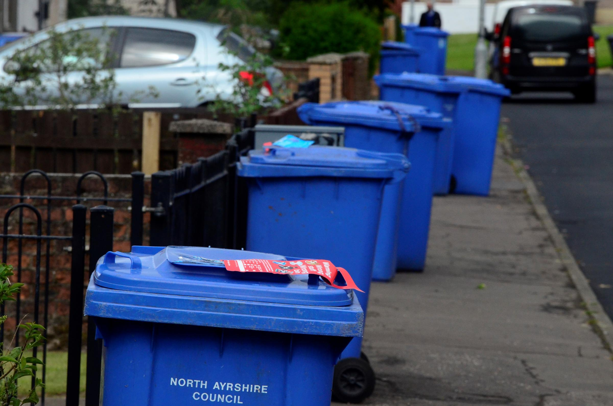 Bins in North Ayrshire to be collected every three weeks