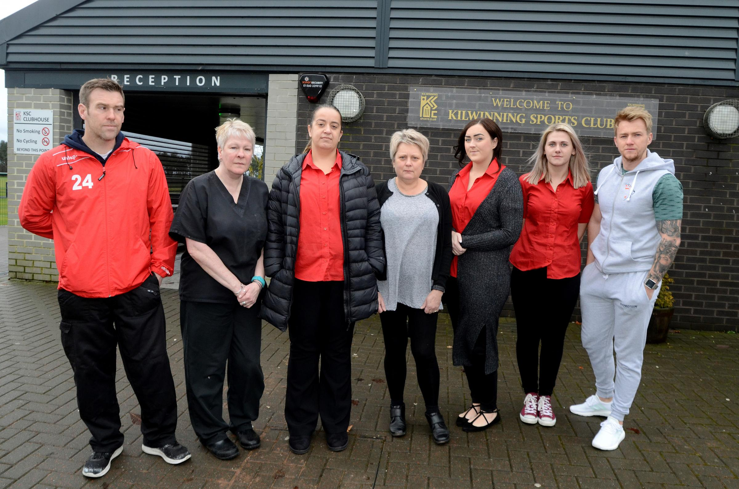 Kilwinning Sports Club facing closure following cash crisis