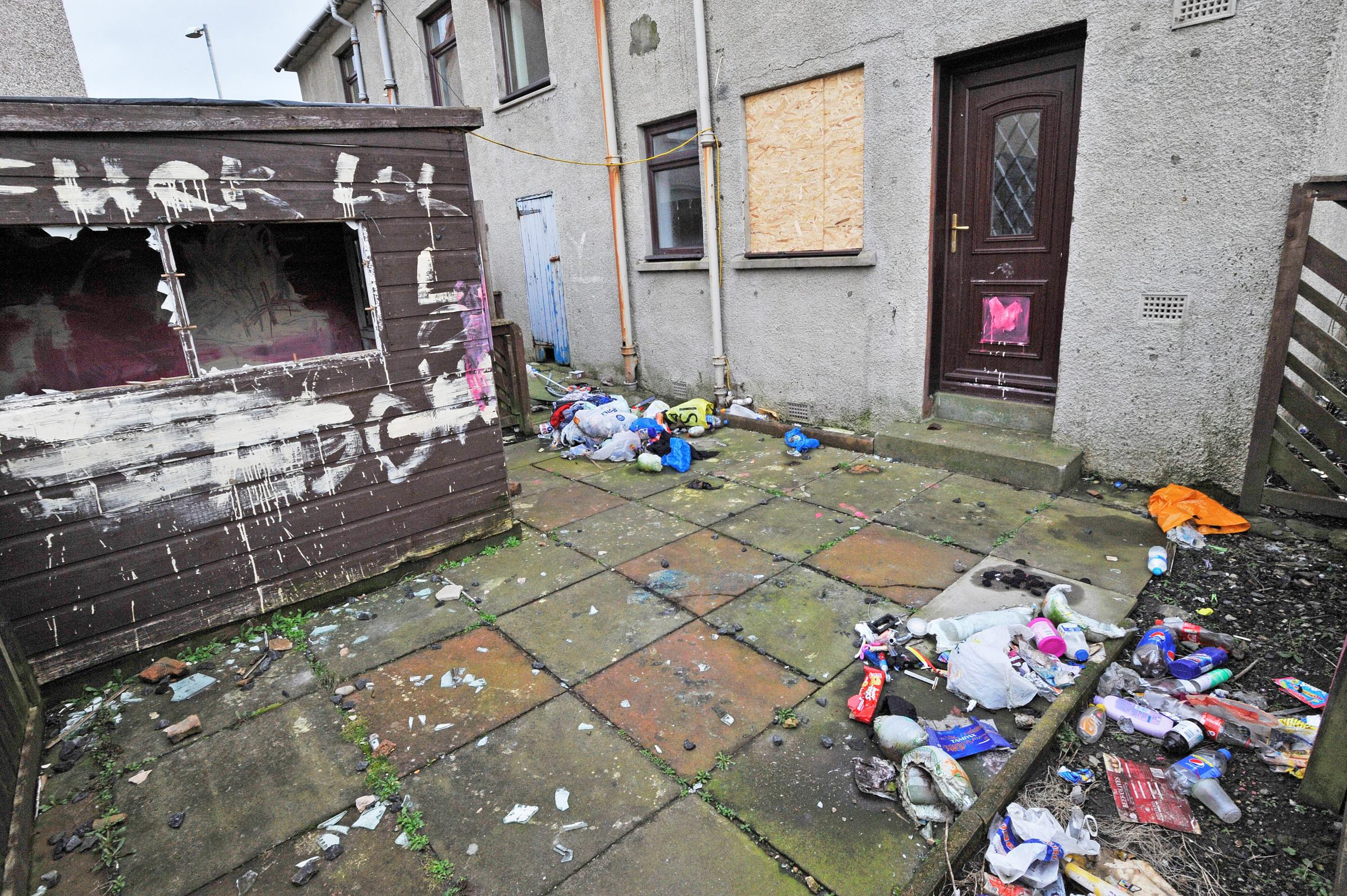 Empty house is a 'magnet for anti-social behaviour'