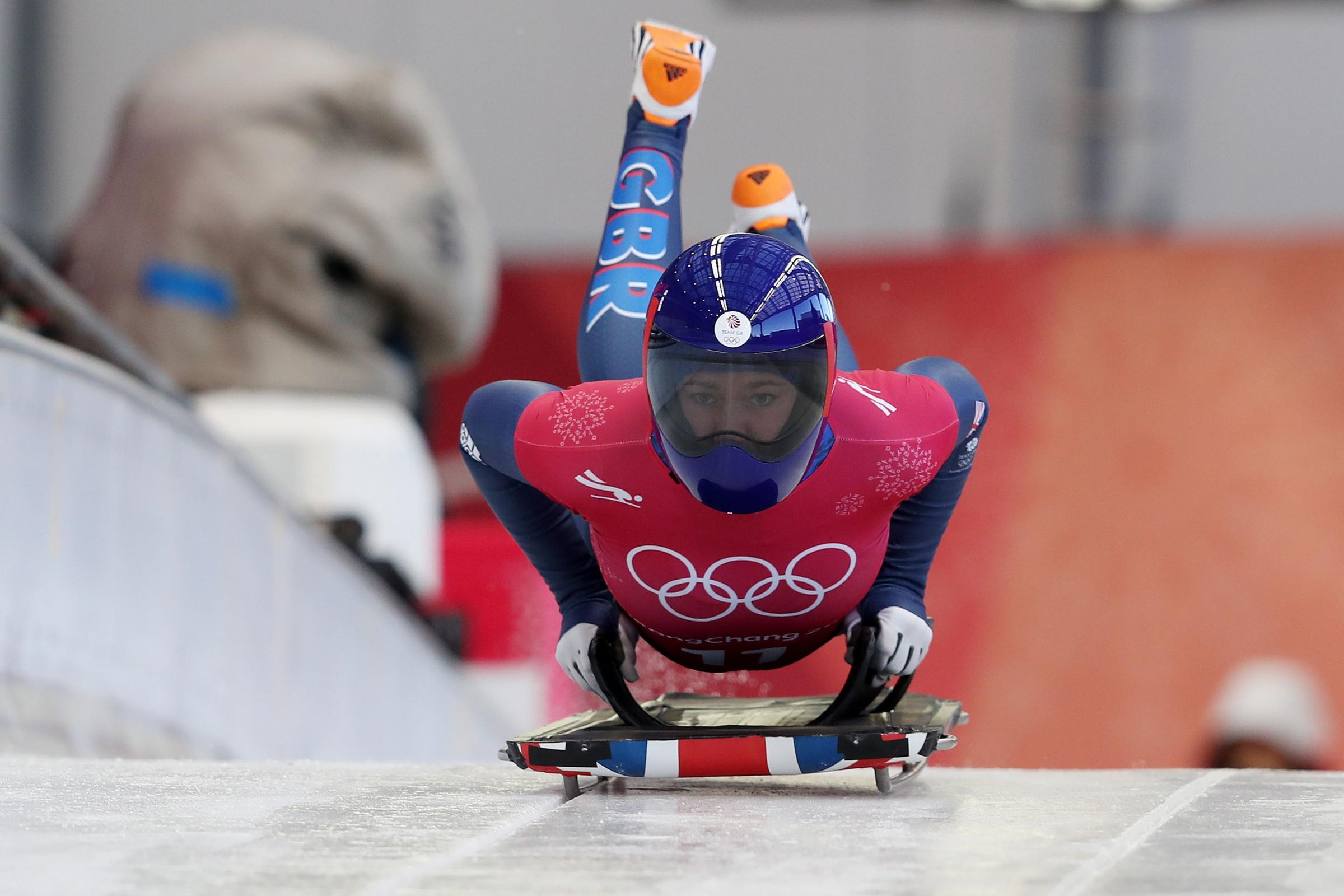 Lizzy Yarnold's skinsuit has been given official approval by skeleton officials after complaints by rivals (David Davies/PA Images)
