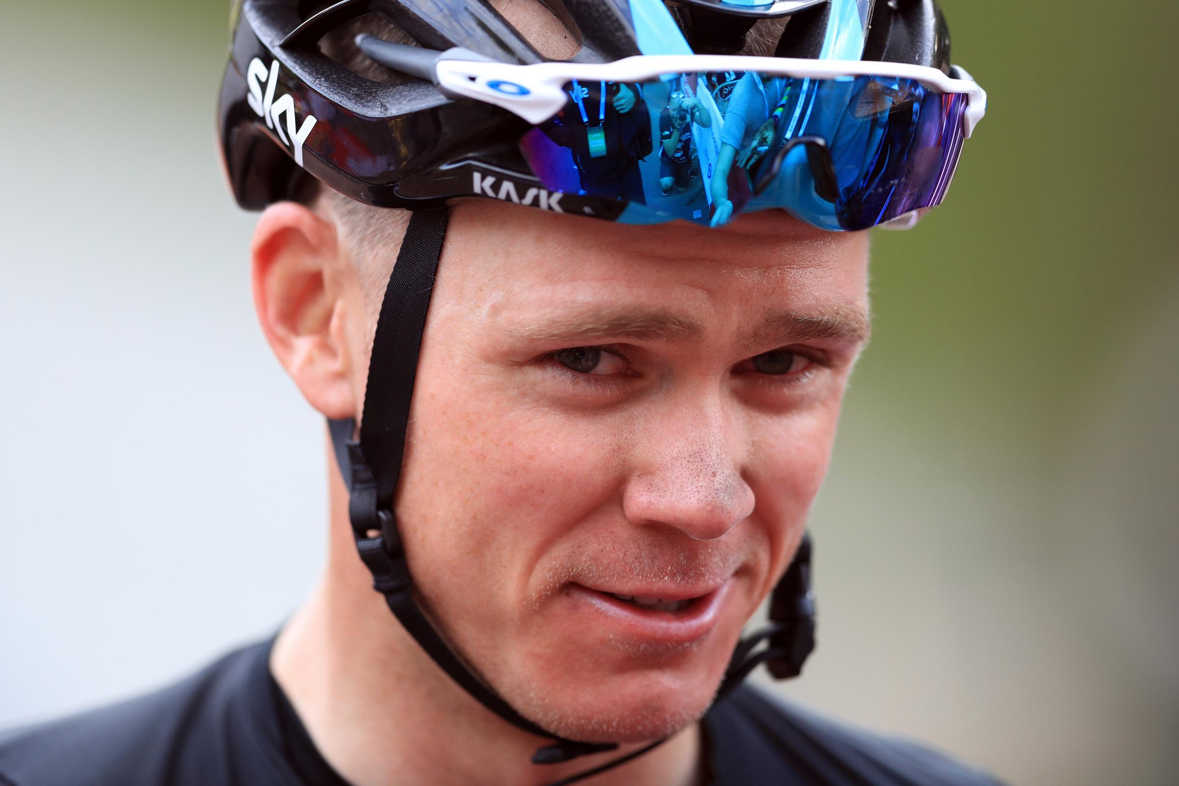 Chris Froome insists he has done nothing wrong (Adam Davy/PA)