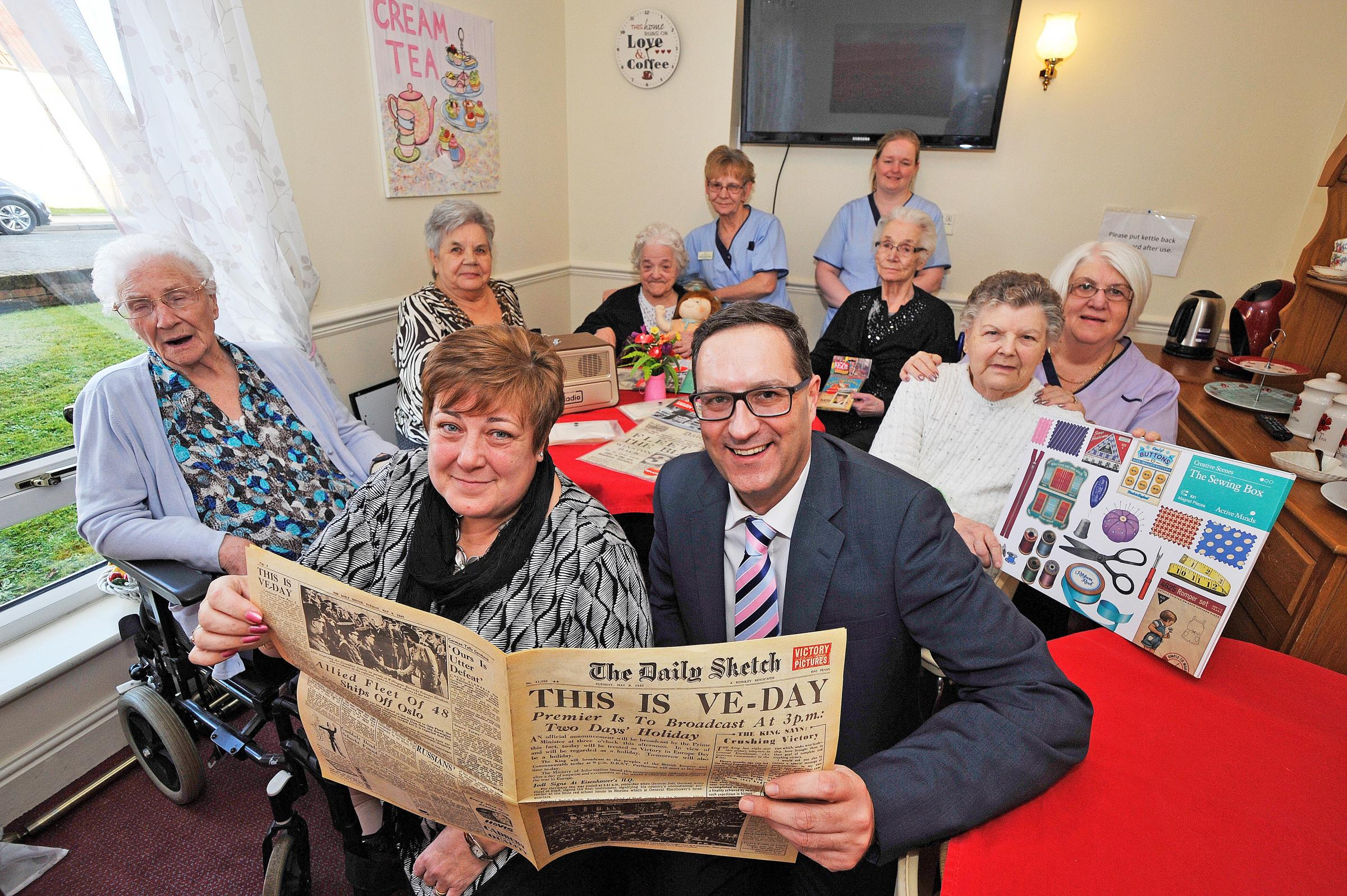 Activity gear win for Three Towns Care Home