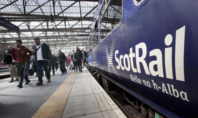 ScotRail chiefs have warned passengers travelling between Central and Ardrossan Harbour to plan ahead.