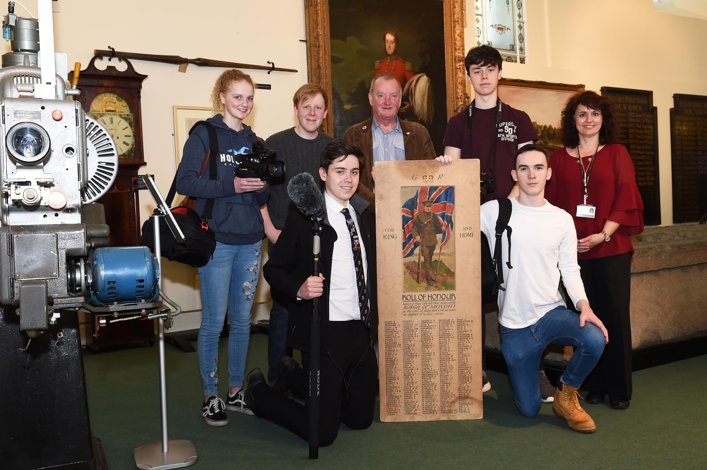 WW1 display A WW1 project aimed at young people has received £10,000 in funding.