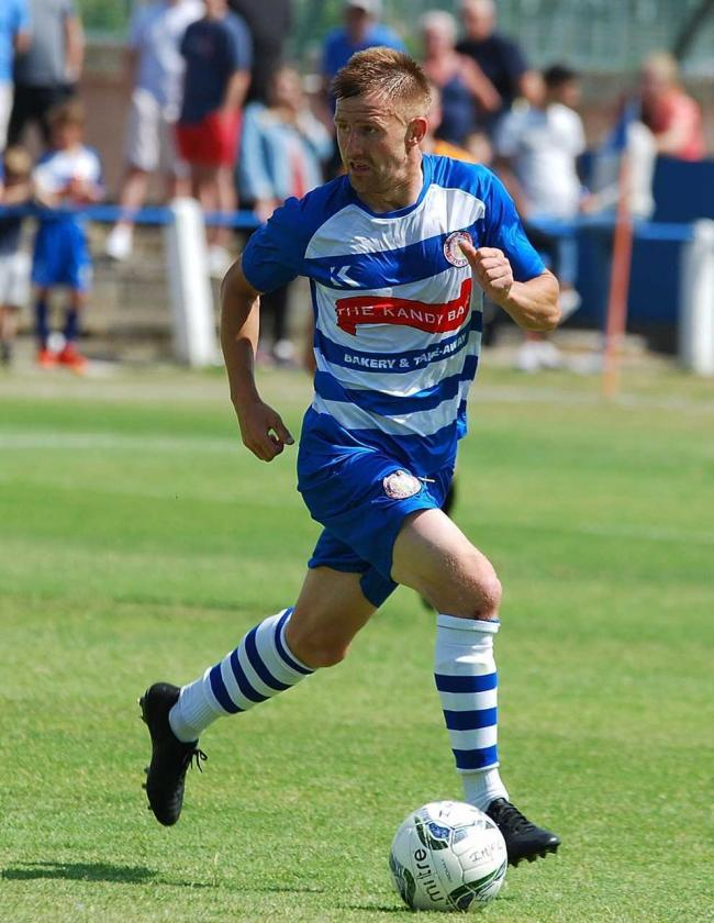 CUP FOCUS: Buffs midfielder Ben Lewis.