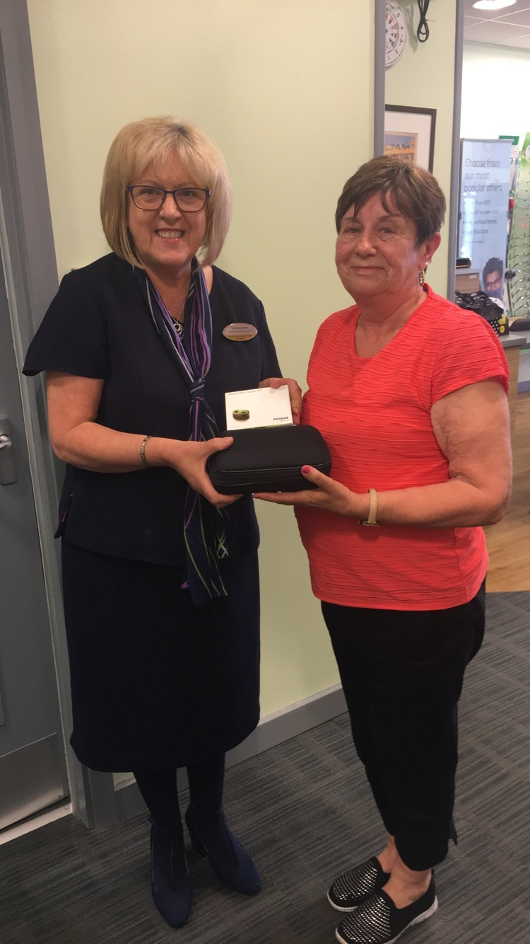 Hearing aid winner thanks to the Herald and Specsavers