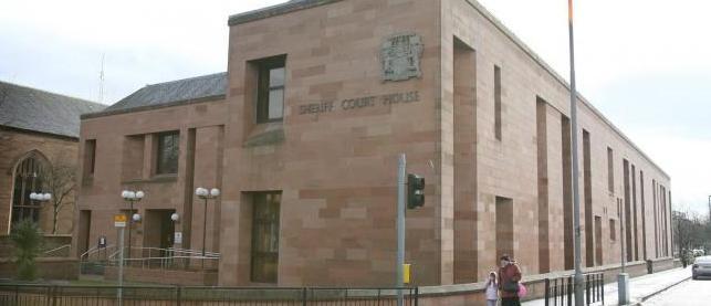 Kilmarnock Sheriff Court & Drunken rampage shame of man who kicked in 84-year-oldu0027s door ...