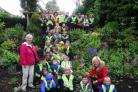 Beith Community Garden visits