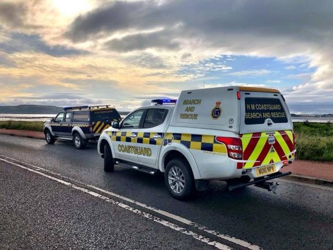 Coastguard rescue four people off coast of West Kilbride