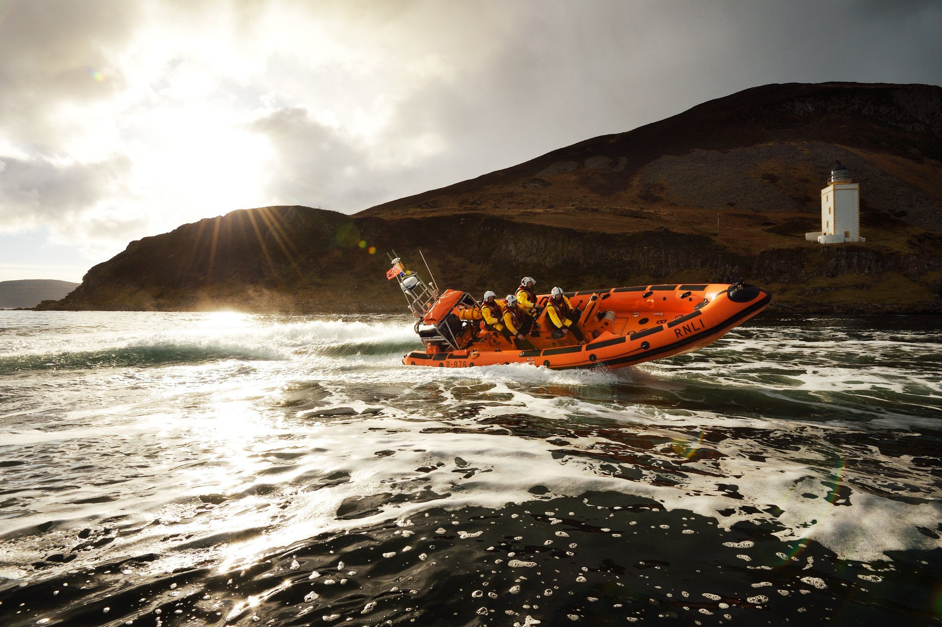 Arran RNLI's busy year continues with call out