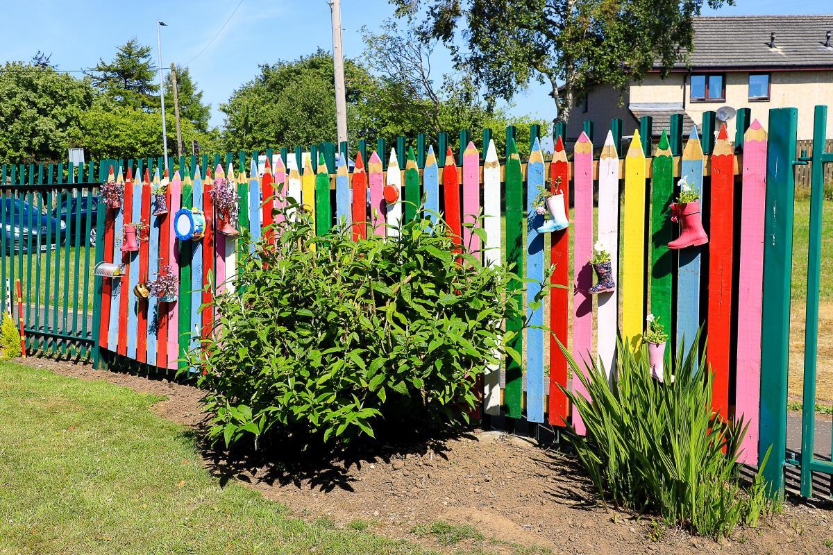 sensory garden opens at fergushill - Sensory Garden