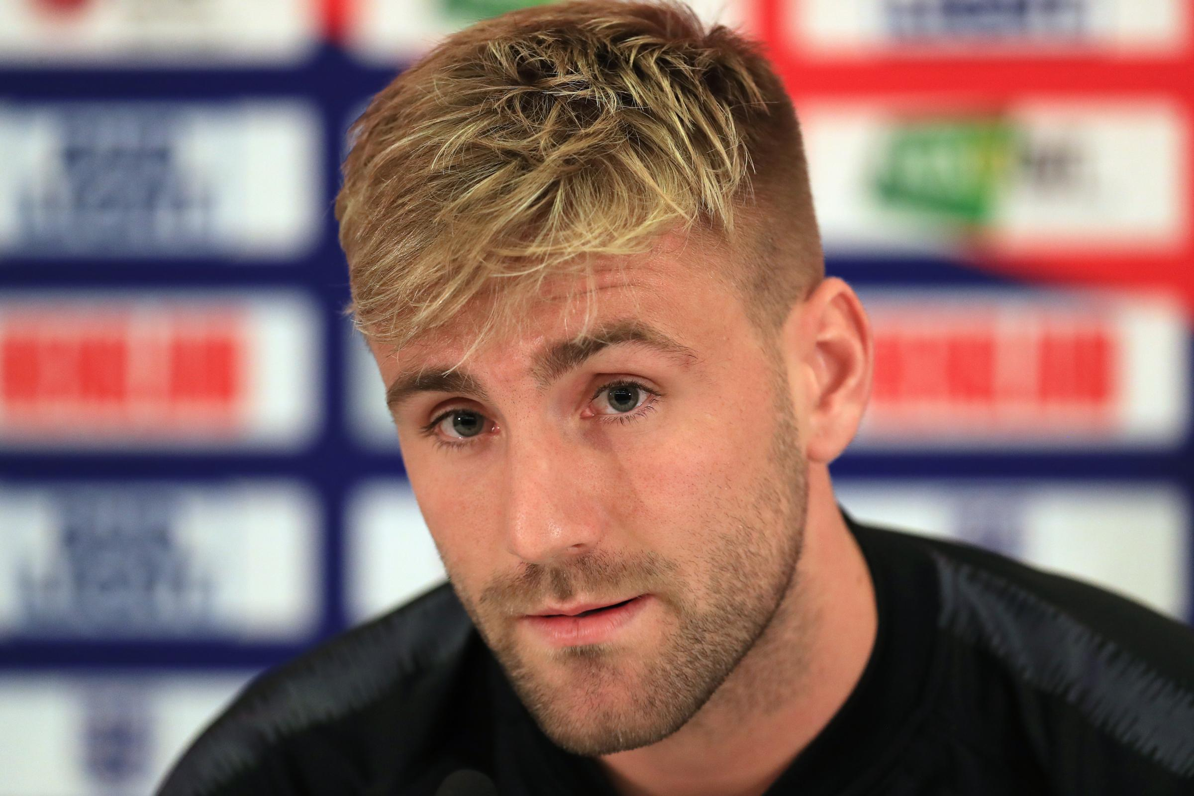 Luke Shaw is back in the England team