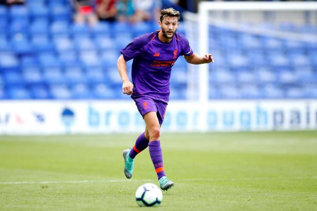 Adam Lallana will soon return to full training with Liverpool