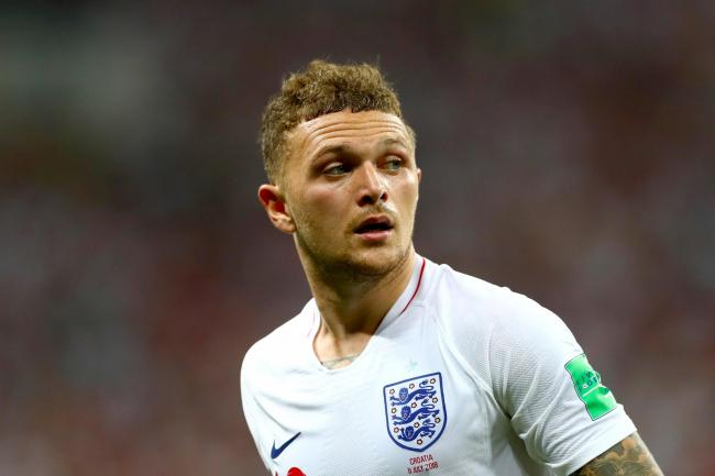 England's Kieran Trippier has rewatched his World Cup goal 100 times