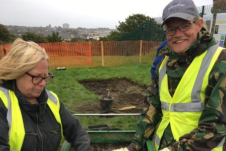 Ardrossan Castle's big archaeological dig is underway