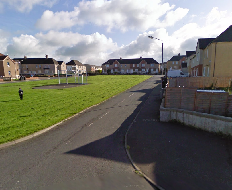 Schoolgirl hit on the head with a firework in Saltcoats