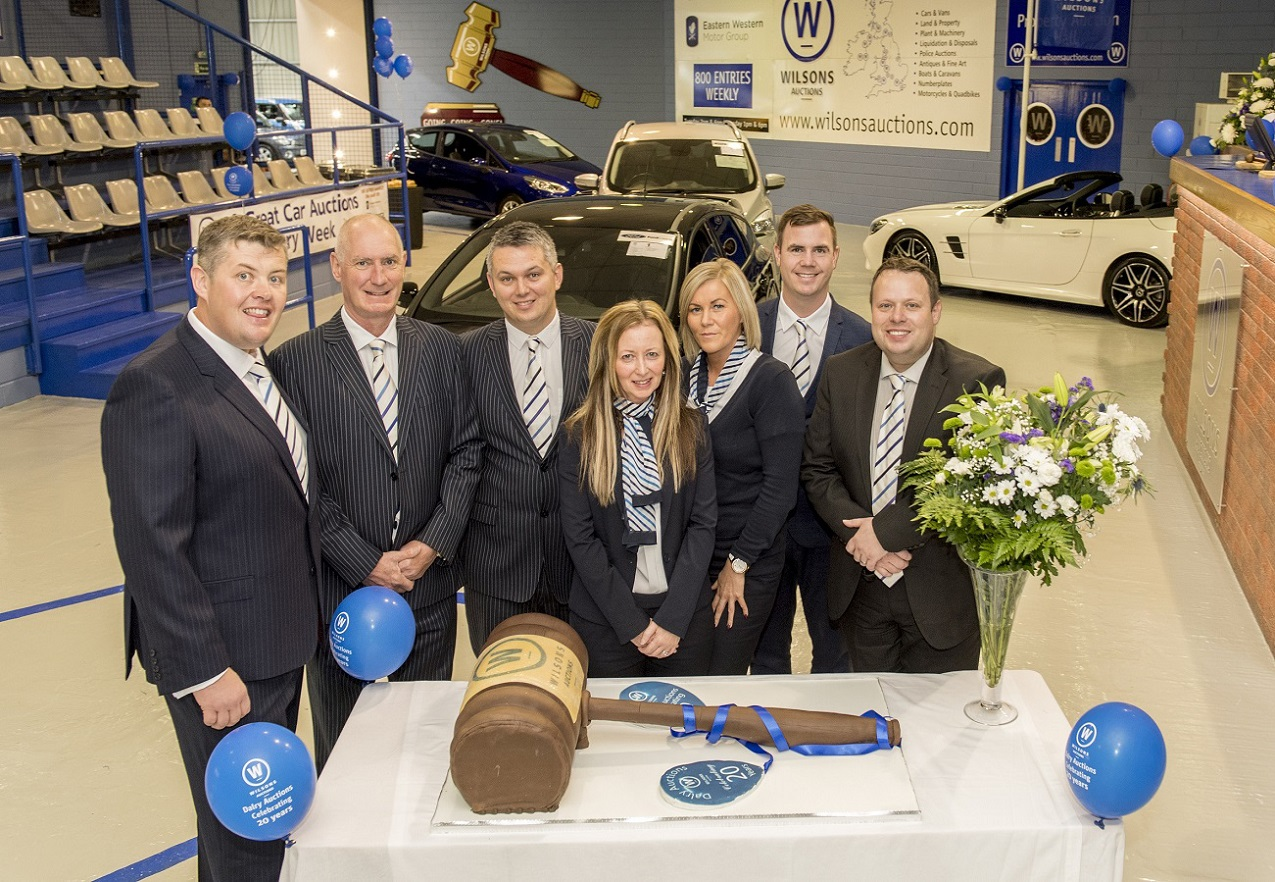 Wilson s Auctions marks 20 years in Dalry