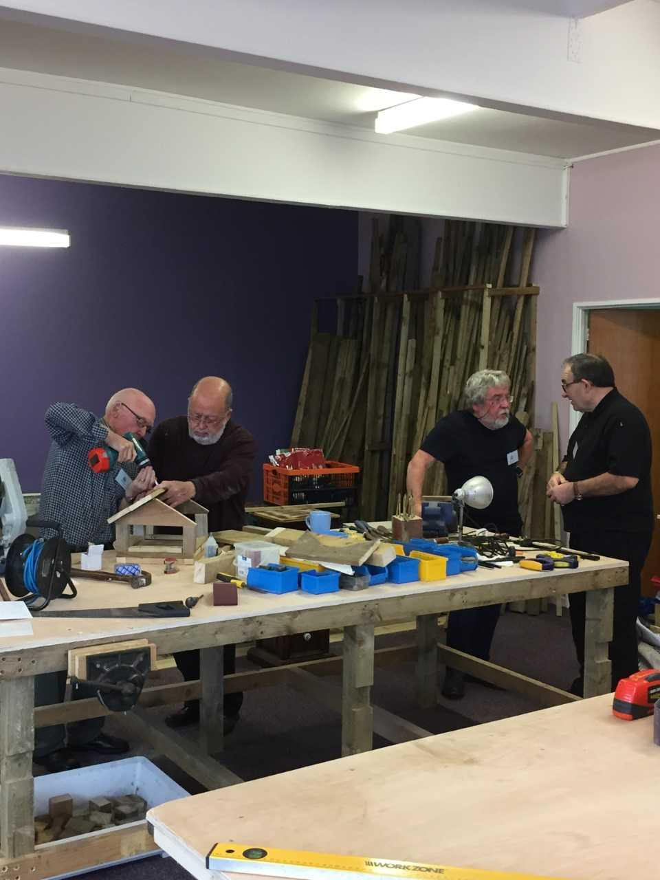 Three Towns Men's Shed to remain in Focus Centre