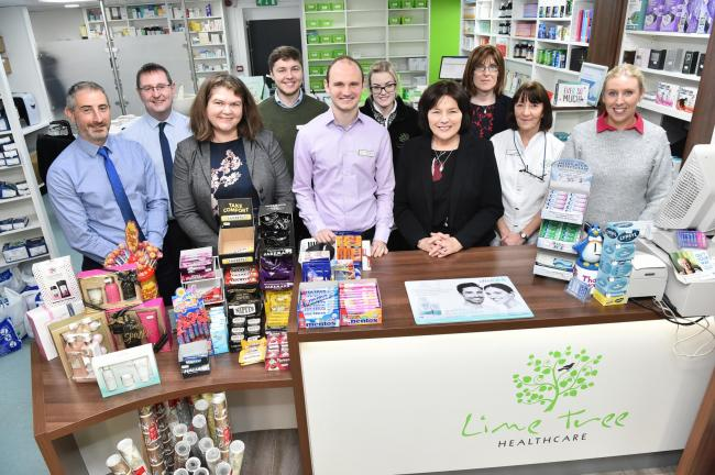 Health minister visit to Townhead Pharmacy