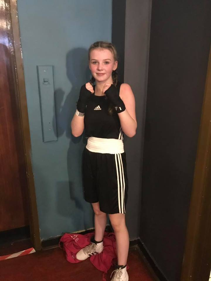 TOP BOXER: Brooke Neely is in action this weekend.