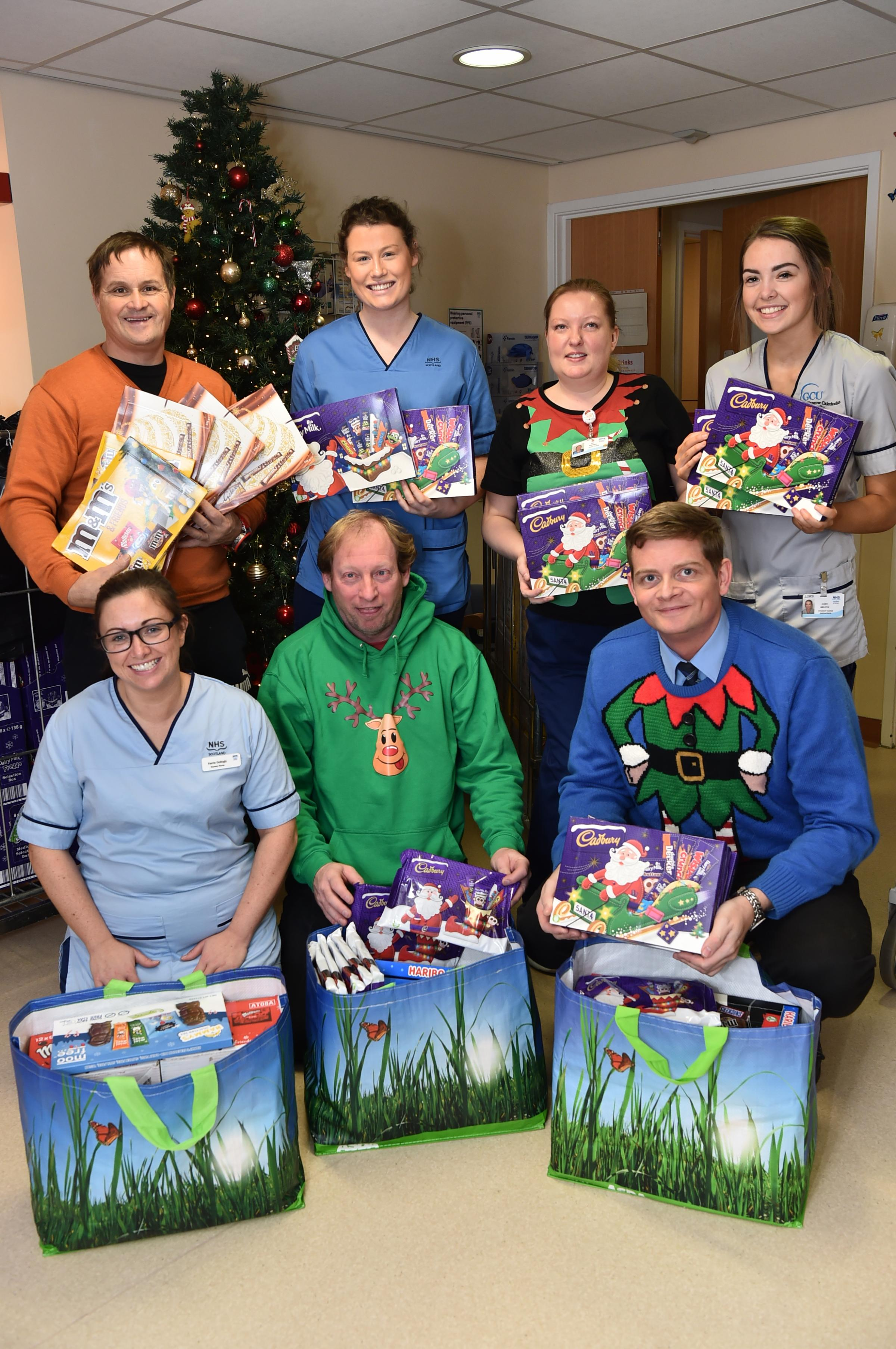 Charity stalwart donates more than 800 selection boxes for Christmas 2018