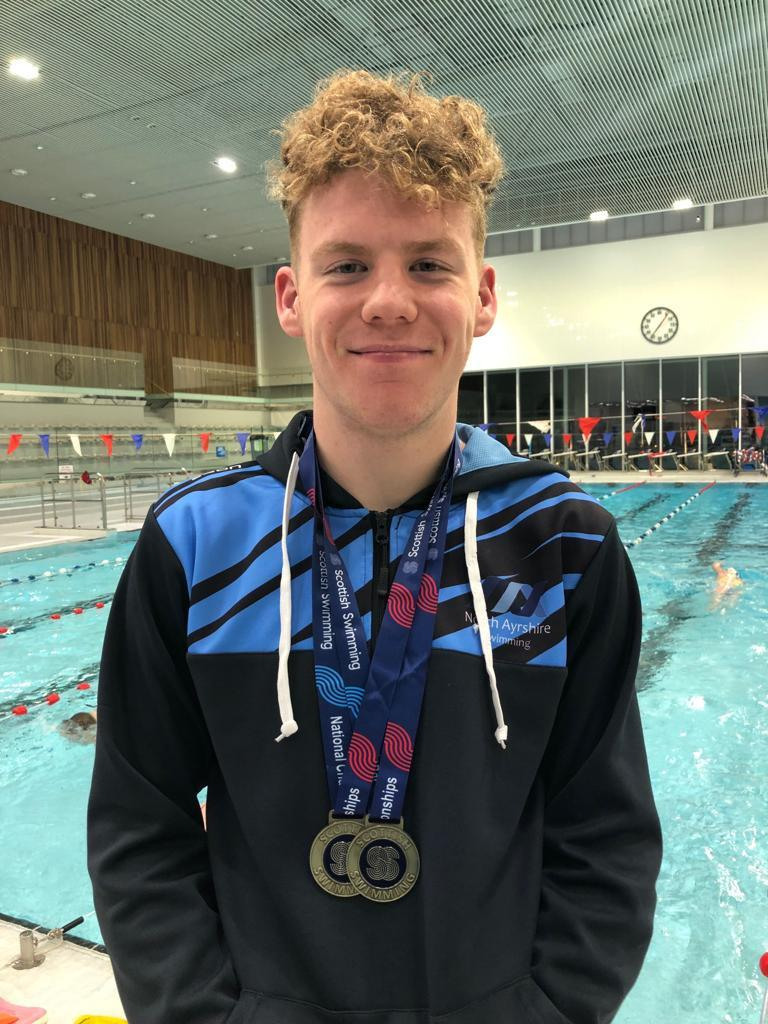 MEDAL MARVEL: Rory Dickson performed brilliantly,