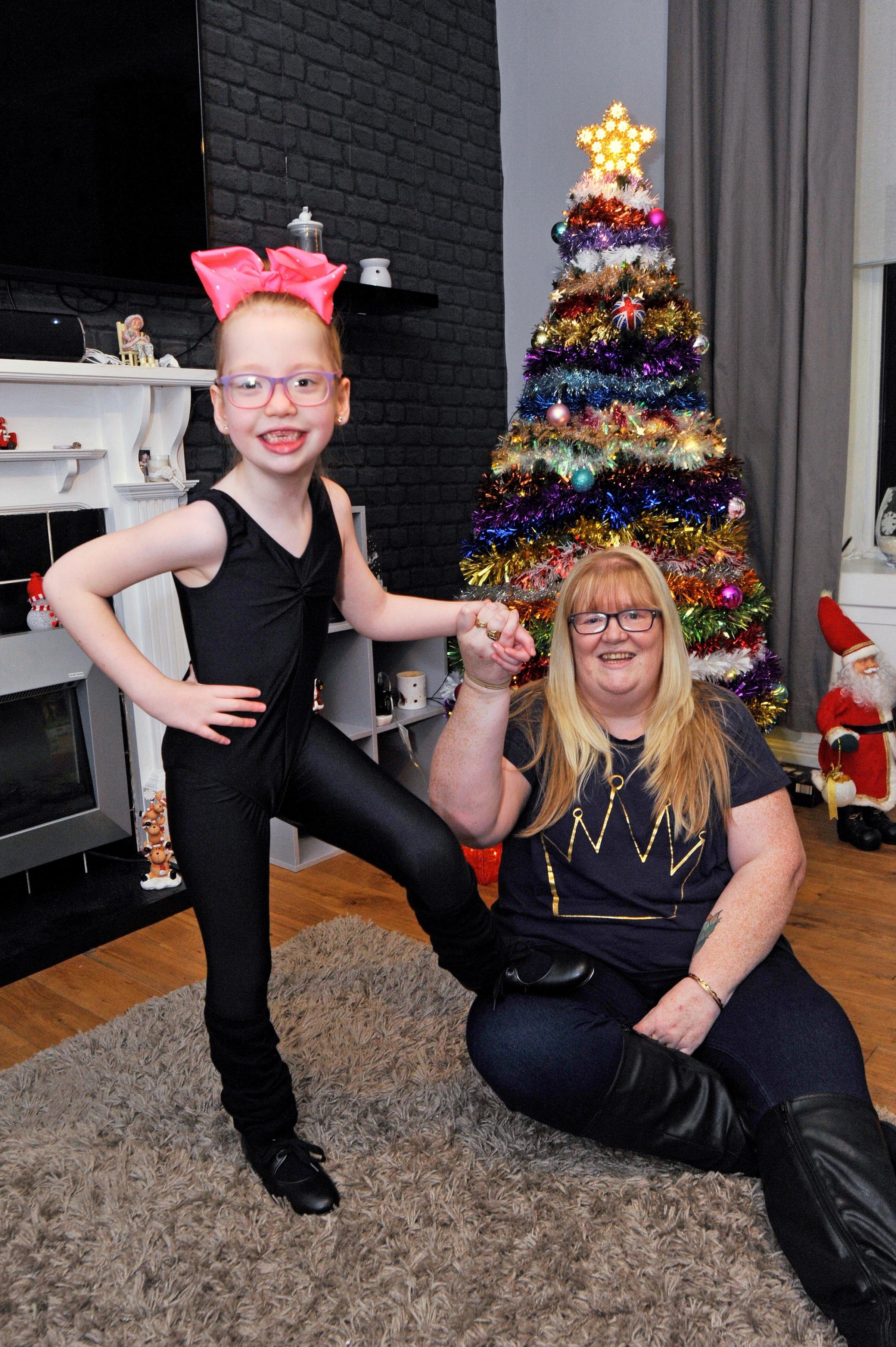 Keira-Leigh Conway and Gran Debbie Ryan.