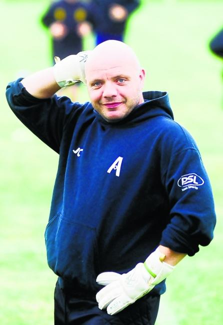 NUMBER TWO: Jim Catterson is the new assistant manager at Ardeer Thistle.