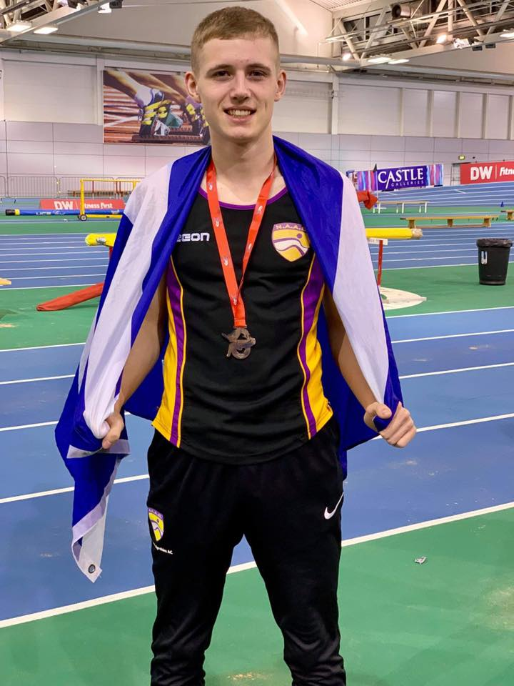 National silver win for 17-year-old Beith heptathlete