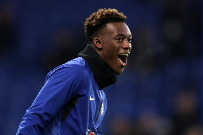 Callum Hudson-Odoi is out to make an impression after getting his first England call-up