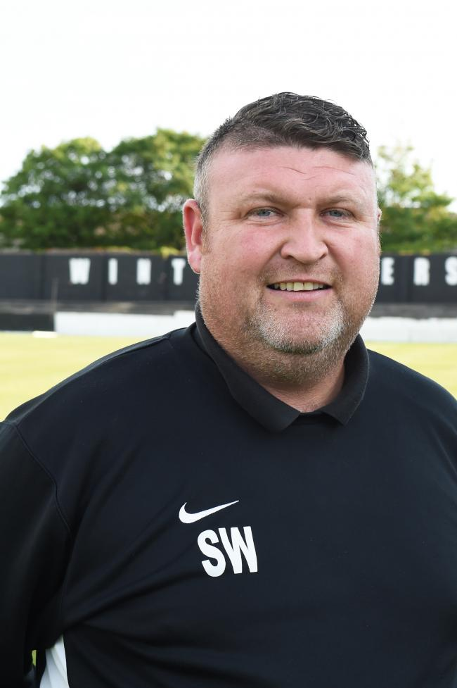 PLAYING COY: Winton Rovers manager Stevie Wilson.