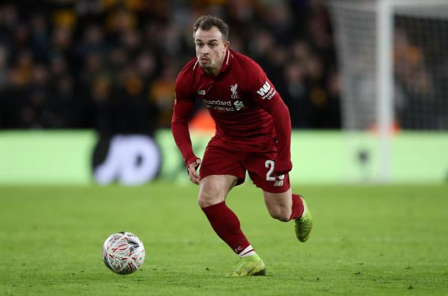 Liverpool winger Xherdan Shaqiri has pulled out of Switzerland's squad with an injury.