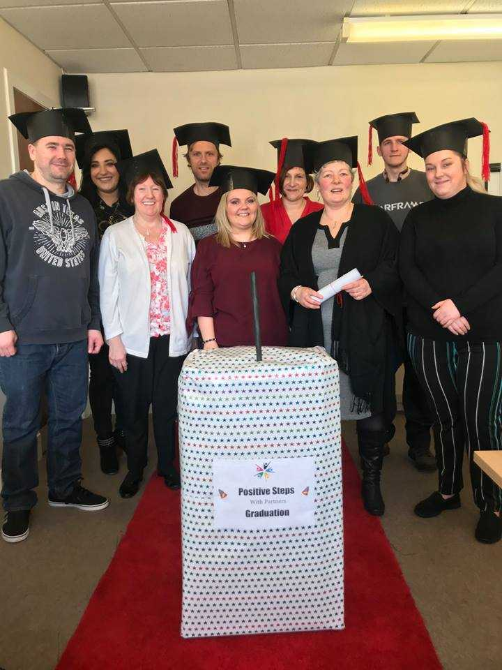 Ayrshire Community Trust Positive Steps graduates