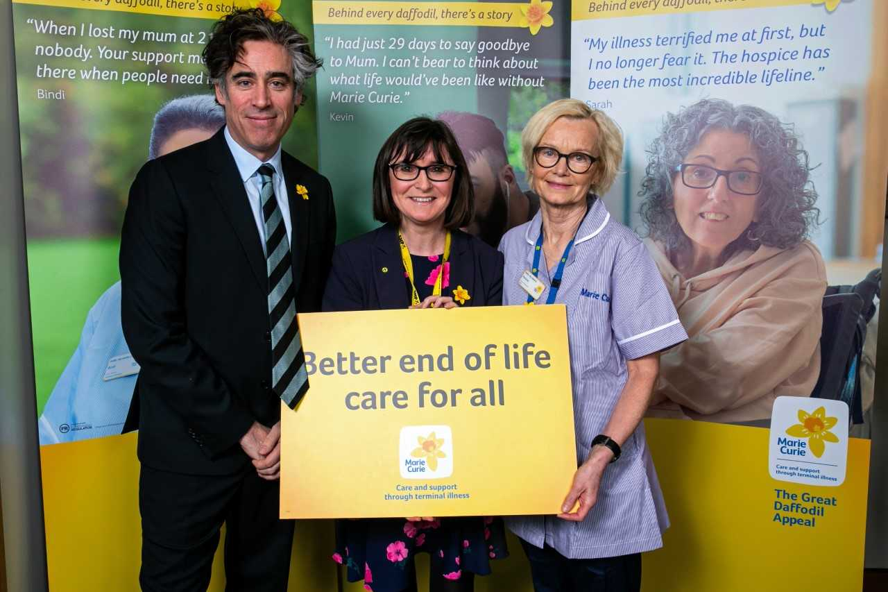 MP Patricia Gibson backs Daffodill Appeal