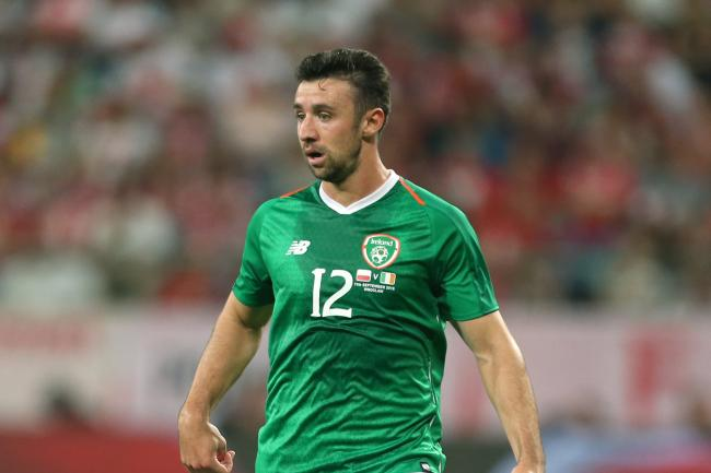 Republic of Ireland defender Enda Stevens is keeping his feet firmly on the ground